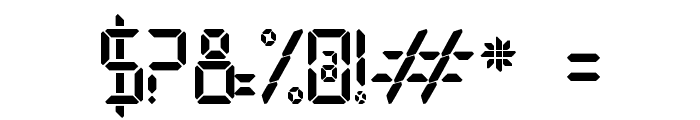Open 24 Display St Font OTHER CHARS