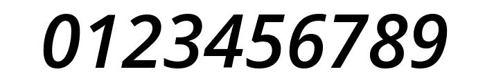 Open Sans Semibold Italic Font OTHER CHARS