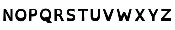 OpenDyslexic Bold Font UPPERCASE