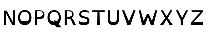 OpenDyslexic Font UPPERCASE