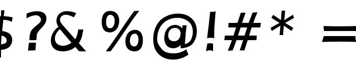 OpenDyslexicAlta Bold Italic Font OTHER CHARS