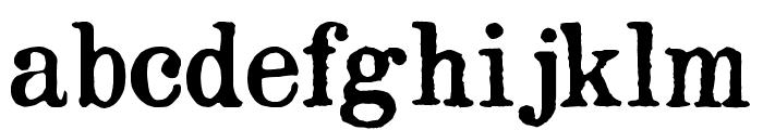 Opera-Lyrics Smooth Font LOWERCASE