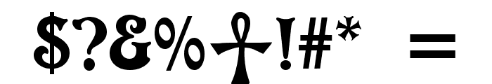 Ophidean Runes Font OTHER CHARS