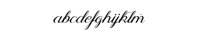 Oph?lia Script Font LOWERCASE