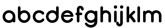 Opificio Bold-Rounded Font LOWERCASE