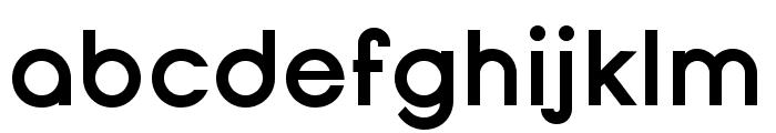 Opificio Bold Font LOWERCASE