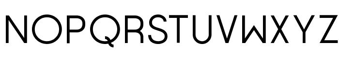 Opificio Neue Font UPPERCASE