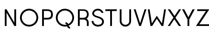 Opificio Regular Font UPPERCASE