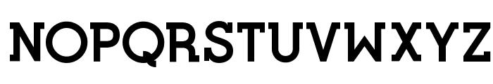Opificio Serif Bold Font UPPERCASE