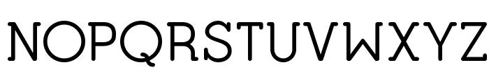 Opificio Serif Rounded Font UPPERCASE