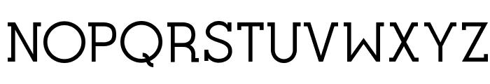 Opificio Serif Font UPPERCASE