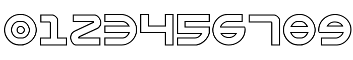 Opilio Outline Regular Font OTHER CHARS