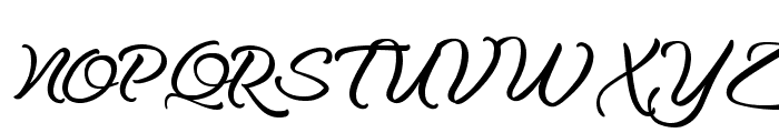 Optimal Solutions Font UPPERCASE