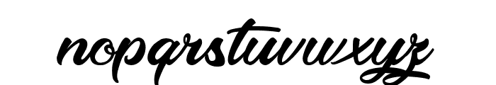 Optimal Solutions Font LOWERCASE