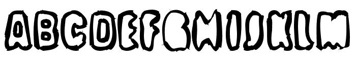 Optimum Font UPPERCASE
