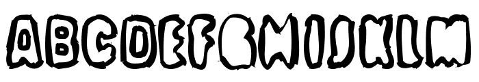 Optimum Font LOWERCASE