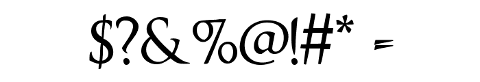 OptimusPrinceps Font OTHER CHARS