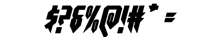 Opus Magnus Italic Font OTHER CHARS