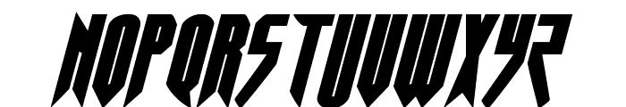 Opus Magnus Italic Font UPPERCASE