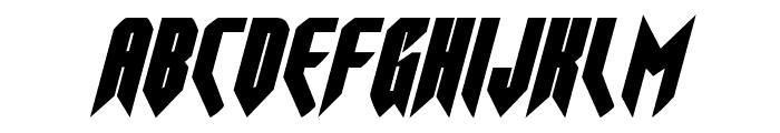 Opus Magnus Italic Font LOWERCASE