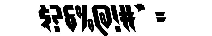 Opus Magnus Leftalic Font OTHER CHARS