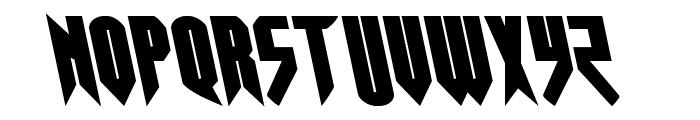 Opus Magnus Leftalic Font LOWERCASE