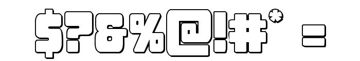 Opus Mundi 3D Font OTHER CHARS