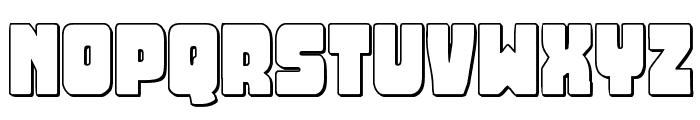 Opus Mundi 3D Font UPPERCASE