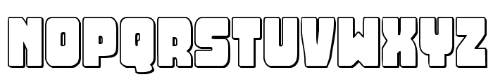Opus Mundi 3D Font LOWERCASE