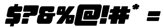 Opus Mundi Expanded Italic Font OTHER CHARS