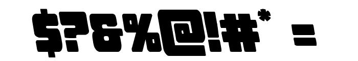 Opus Mundi Leftalic Font OTHER CHARS