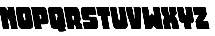 Opus Mundi Leftalic Font UPPERCASE