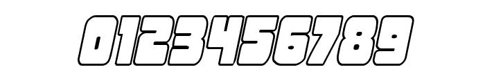 Opus Mundi Outline Italic Font OTHER CHARS