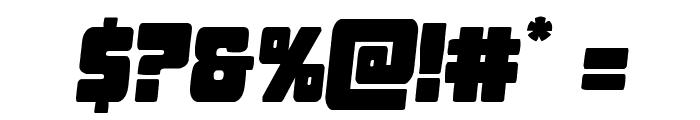 Opus Mundi Semi-Italic Font OTHER CHARS