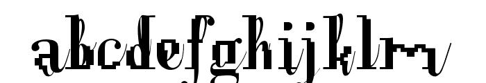 Opux Pix Font LOWERCASE