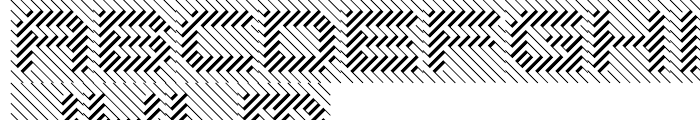 Opticum One Font LOWERCASE
