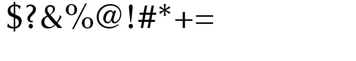Optima Medium Font OTHER CHARS