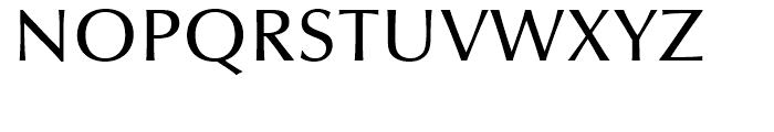 Optima Medium Font UPPERCASE