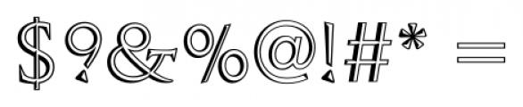 Openface FS Regular Font OTHER CHARS