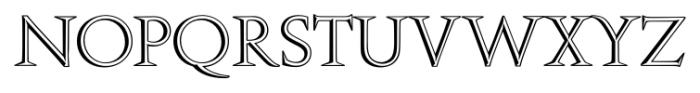 Openface FS Regular Font UPPERCASE