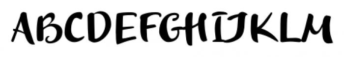 Optimisti Smooth Font UPPERCASE