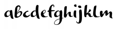 Optimisti Smooth Font LOWERCASE