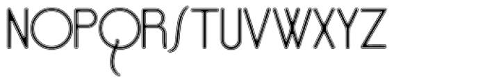 Opaque Font UPPERCASE