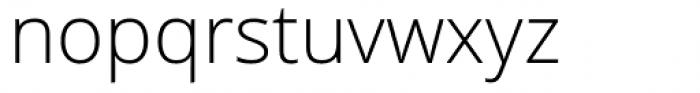 Open Sans Light Font LOWERCASE