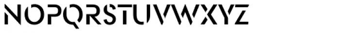 OpenAir Font LOWERCASE