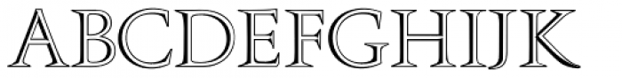 Openface No2 Font LOWERCASE