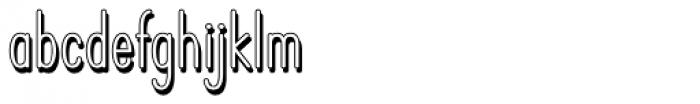 Operator Nine BTN Shadow Font LOWERCASE