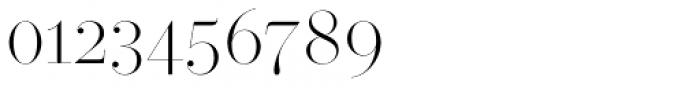 Operetta 32 Extra Light Font OTHER CHARS