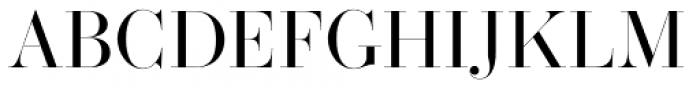 Operetta 32 Regular Font UPPERCASE