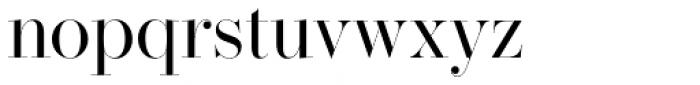 Operetta 32 Regular Font LOWERCASE